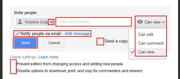 how to share a pdf on google drive