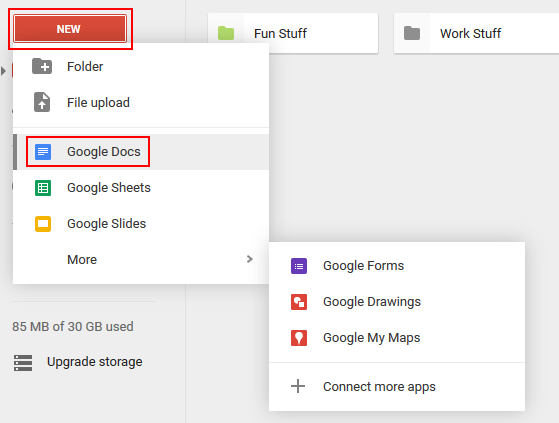 how to create a pdf file in google docs