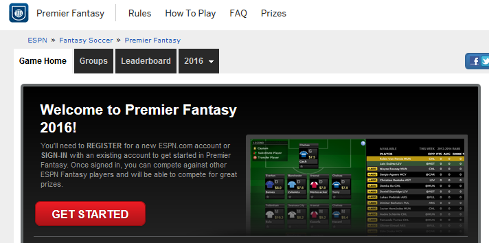 ESPN.com fantasy sports games