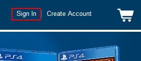 Sign In button for BestBuy.com