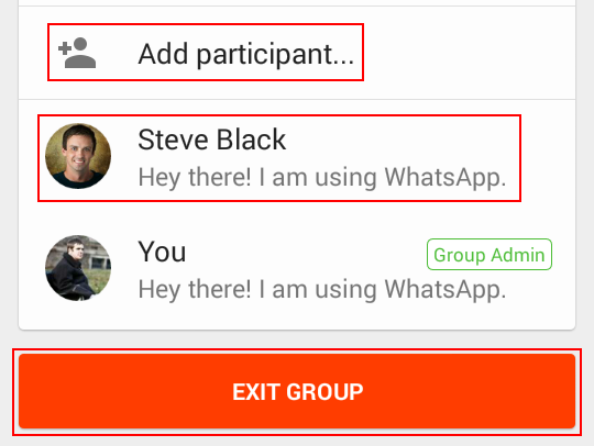 Adding, removing, and managing WhatsApp group members