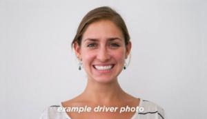 Lyft driver photo example