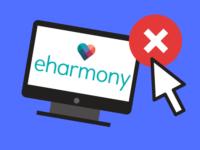 Delete eHarmony account banner