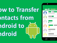How to transfer contacts between Android devices header