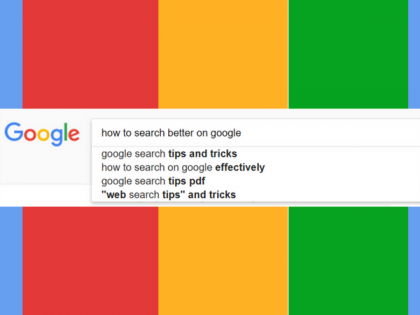 How to Search Better in Google Header