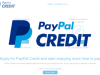 What Is PayPal Credit header
