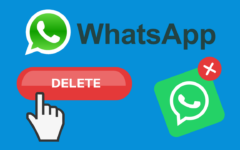 How to Delete a WhatsApp Account header