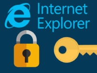 Private Browsing in Internet Explorer header