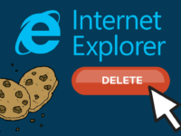How to Delete Cookies in Internet Explorer header