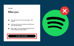 How to Delete a Spotify Account header