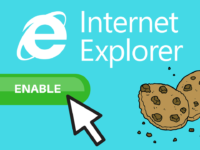 How to Enable Cookies in Internet Explorer header