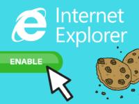 How to Enable Cookies in Internet Explorer header