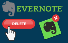 How to Delete an Evernote Account header