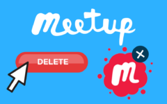 How to Delete a Meetup Account header