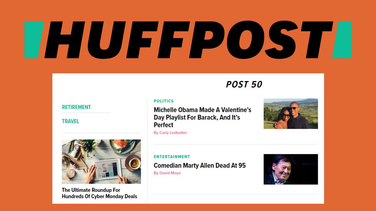 HuffPost 50 header