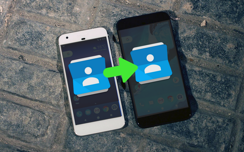 How to Transfer Contacts from Android to Android header