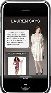 GLAMOUR Ask a Stylist app