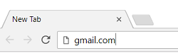 Gmail.com in web browser