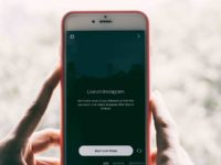 Live streaming Instagram from mobile phone