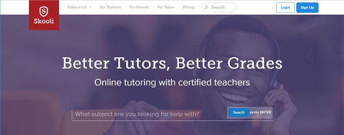Skooli website