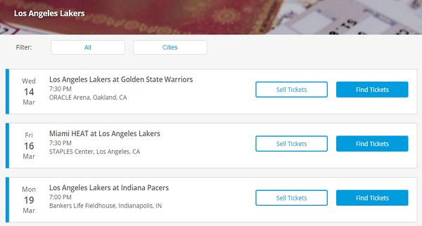 TicketsNow website