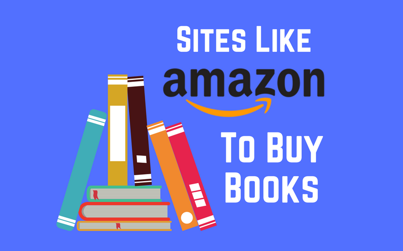 Amazon book alternatives banner