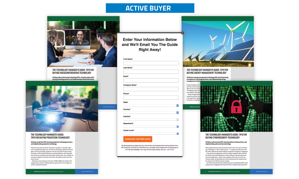 TechDecisions Banner Ads - Active Buyers Program