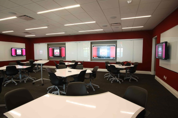 Collaborative Classroom Technology ~ William jewel college turns its library into a high tech