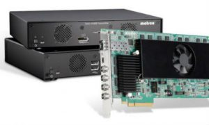 Matrox Extio 3 Series KVM Over IP Products Launch at InfoComm 2017