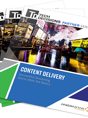Content Delivery Streaming Media