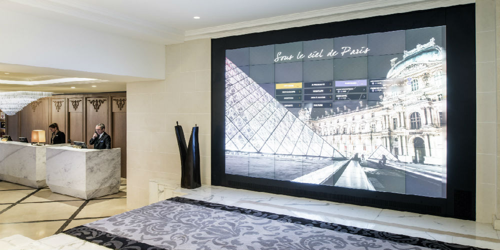 Sofitel Paris Baltimore Hotel Interactive Video Wall - My
