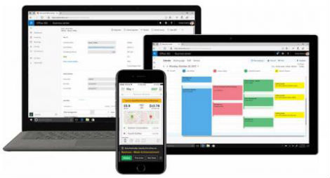 the new applications will help smbs run marketing campaigns manage social media and generate invoices included with microsoft 365 business and office 365
