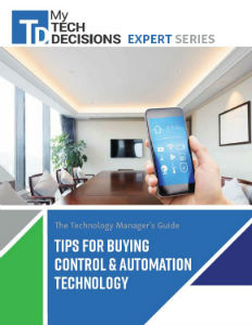 Control and Automation Technology