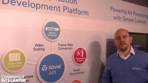 SDVoE to Demo AV/IT Convergence on 10G Infrastructure