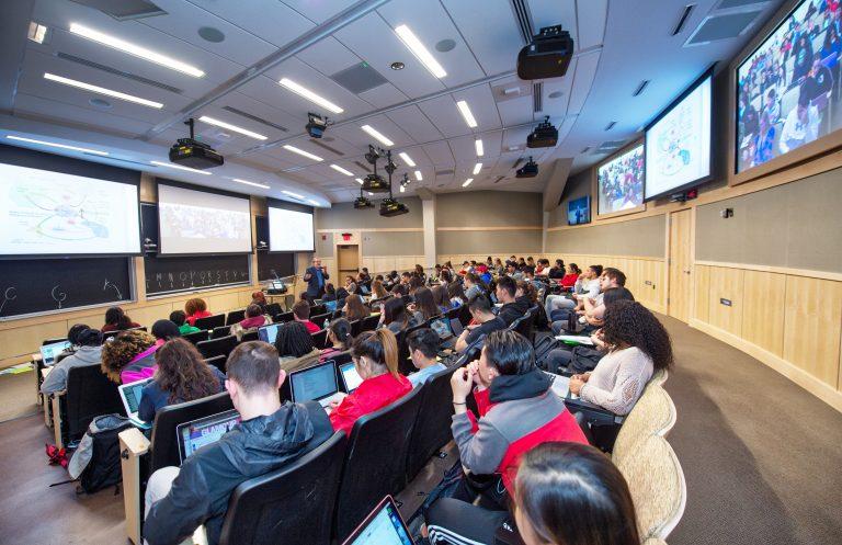Rutgers University High Tech Telepresence Classrooms, slide 0