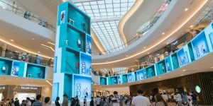 Starfield Goyang Mall Massive Video Wall