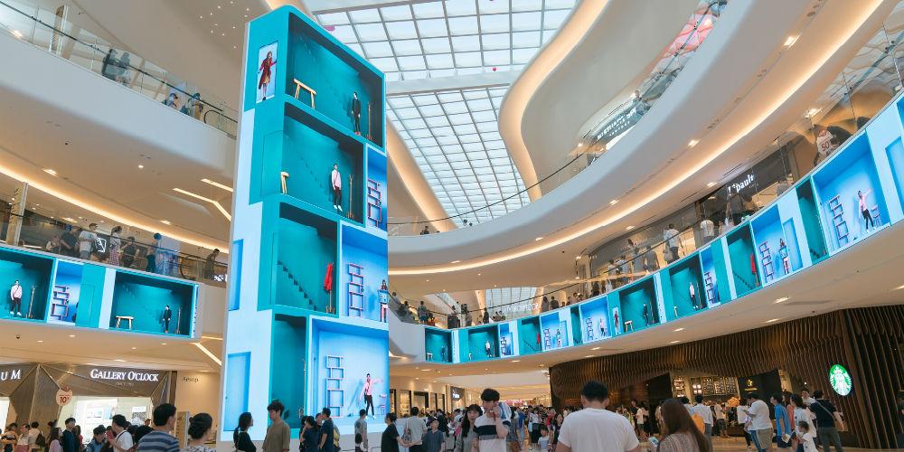 Starfield Goyang Mall Massive Video Wall, slide 0