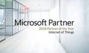 Microsoft Grants Crestron Global IoT Partner of the Year Award for 2018