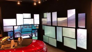 Video Walls on Display at Mercedes Benz Pop-Up Stores