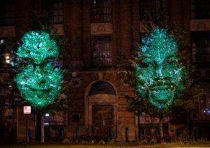NEC Takes Projection Mapping to a Whole New Level—The Trees