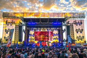 VUE and Sound Image Team Up at Gold Rush Music Festival