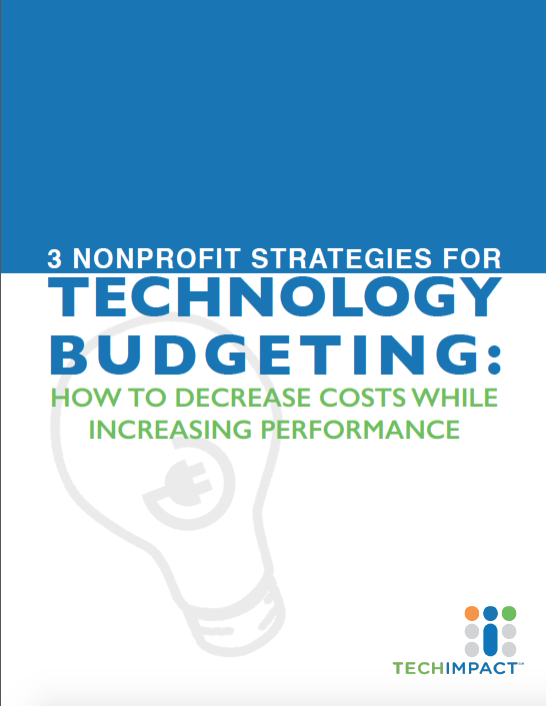 3 Nonprofit Strategies for Technology Budgeting Cover