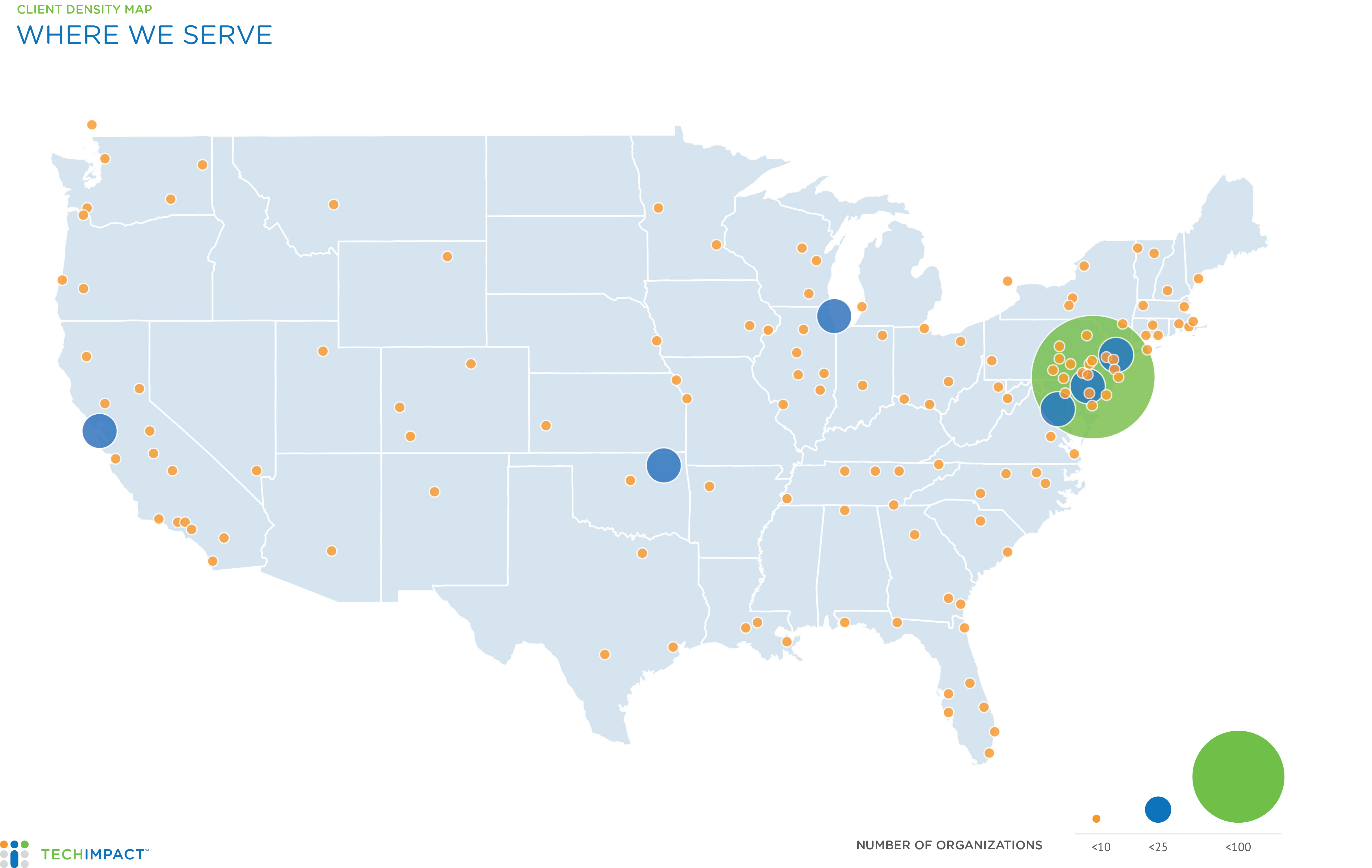 Tech Impact - Impact Map