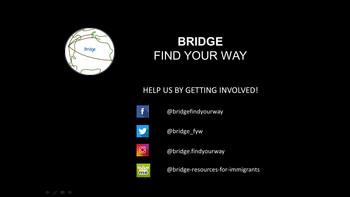 Bridge video closing slide