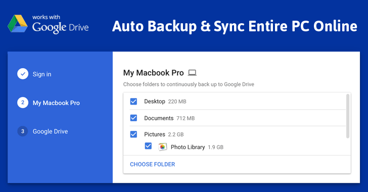 Google's New Backup and Sync App can help both Windows and