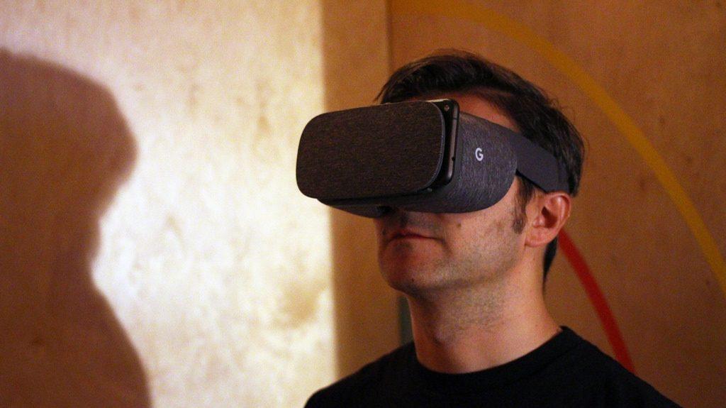 Google training in VR
