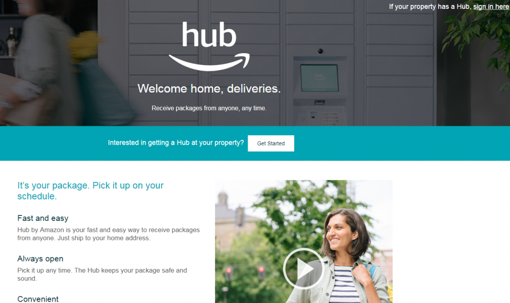 """Moreover, as a customer, you can pick up an item from any sender, any retailer, at any point in time. The services are open for anyone to make use of it. Furthermore, there is no need of retailer to send packages through it. Even your granny can send you items through """"The Hub"""".  Amazon has been experimenting with this type of service for long now. First, known as Amazon Lockers. These are located sparsely at various public locations. The retailers can drop the package at that particular place and the customer can pick it up from there.  Amazon has launched """"The Hub"""" services to improve its last mile delivery issues. Most of all it is a mechanism to get close to the customer as much as possible. With """"The Hub"""" Amazon has reached the last-feet delivery radius of its customers.   From all angles be it the underwater warehouse patent or in store restriction on product comparisons. Amazon has touched each point on its customer matrix. The drone delivery system is an another aspect of it. All of these efforts show how Amazon is tightening its control on the customers that it serves."""