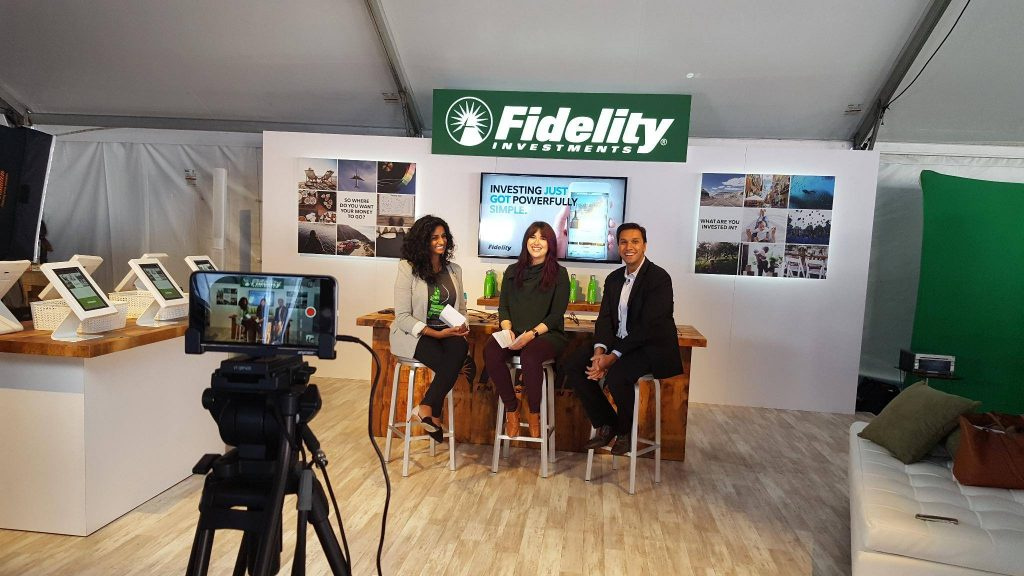 Fidelity interview broadcast
