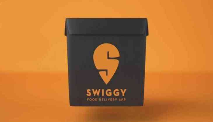 The official logo of Swiggy.