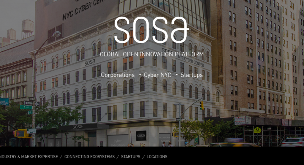 SOSA website shot